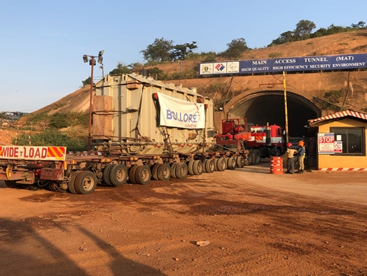 Bollore Logistics transports heavy packages to Uganda for Karuma Dam project