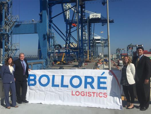 Bolloré Logistics USA opens new office in Charleston, South Carolina