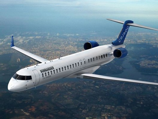 Bombardier receives order for 12 CRJ900 aircraft