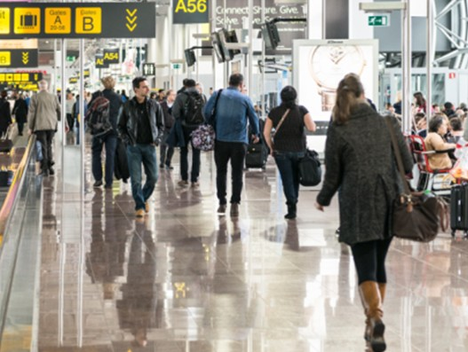 Brussels receive 1.6 million passengers in January, cargo transport up by 2.7%