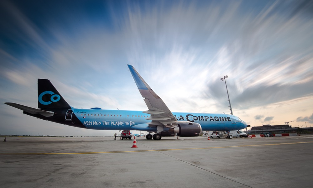 Business Class Airline La Compagnie join hands with WFS for cargo route