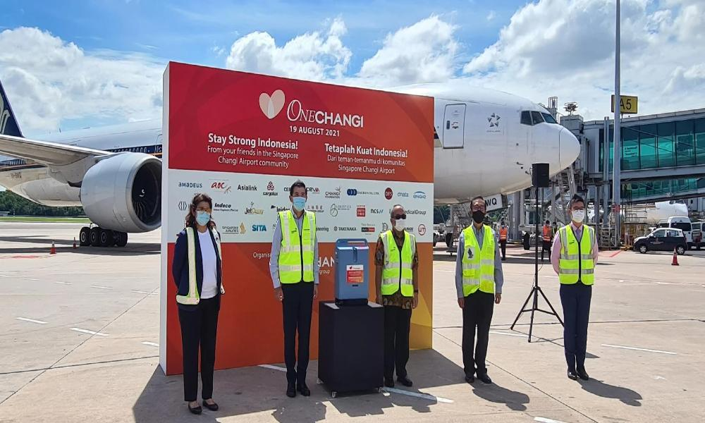 CEVA Logistics transport oxygen concentrators to Indonesia