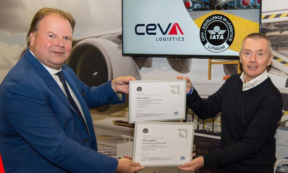CEVA Logistics first to receive IATA CEIV Lithium Battery certification