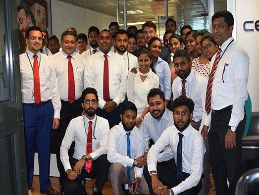 CEVA's Sri Lanka office opens for business