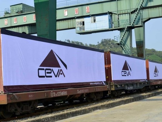 CEVA's Truck-Rail-Truck solution moves cargo across Asia