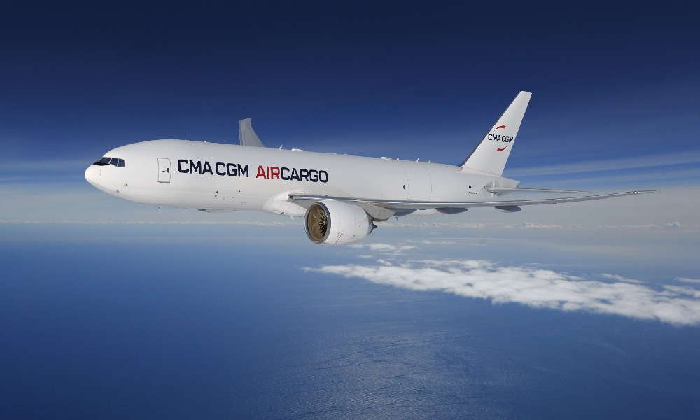 CMA CGM Group expand air freight division with two Boeing 777 freighters
