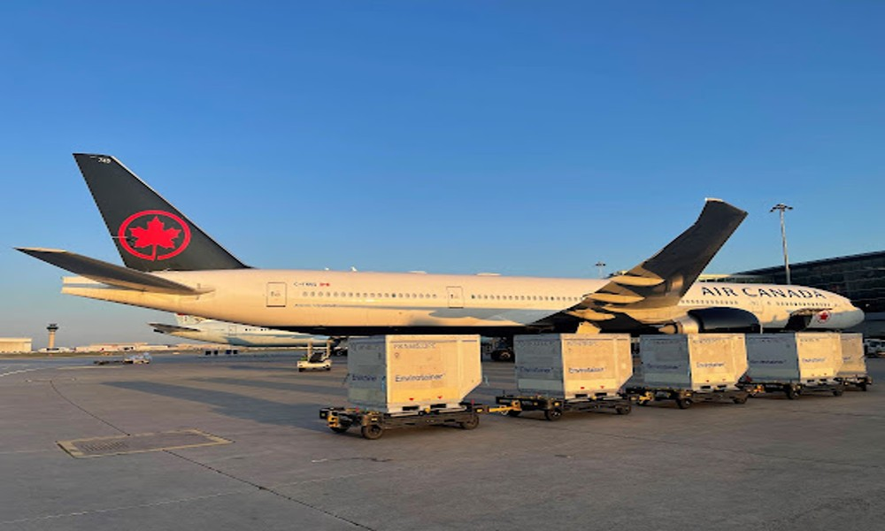 Air Canada flags off $16 million cold chain handling expansion project at Toronto airport