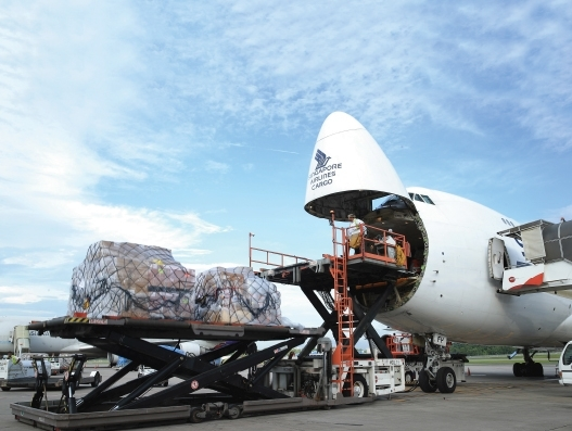 Asia's advancing role in air cargo