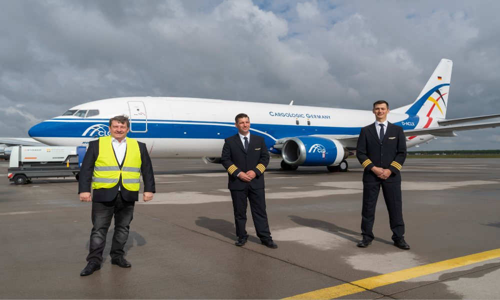 Cargologic Germany receives fourth aircraft; starts operations at Leipig/Halle