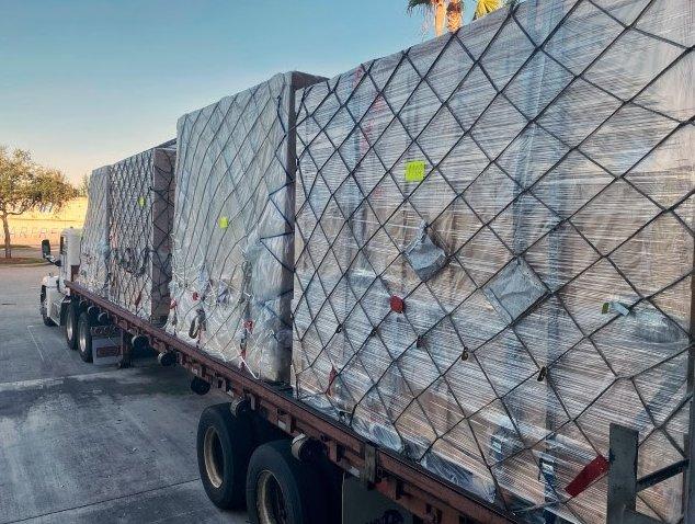 Dietl International offsets 644 MT of CO2 transporting art work