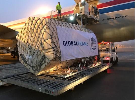 Cargolux flies hi-tech measuring buoys to China