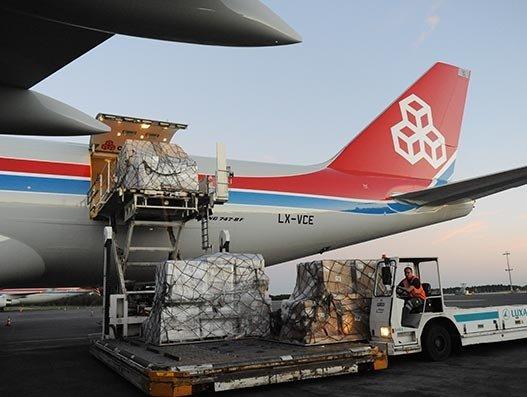 Cargolux flies medical supplies to Zhengzhou