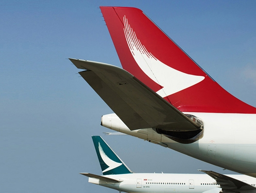 Cargo volume continues to increase for Cathay Pacific in April this year