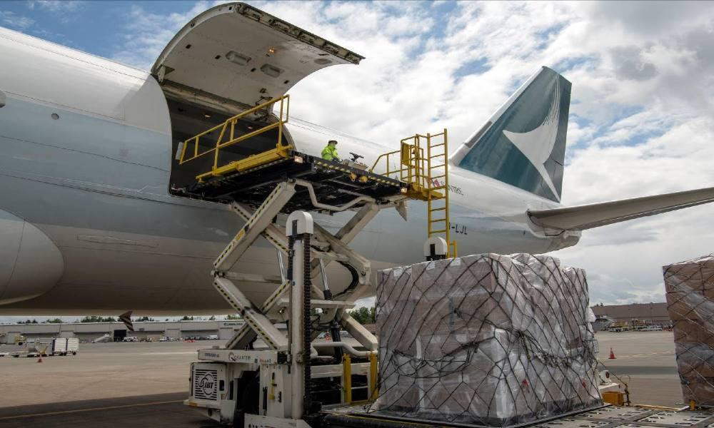 Cathay Pacific Cargo transports 300,000 Covid-19 test kits from Portland to Mumbai