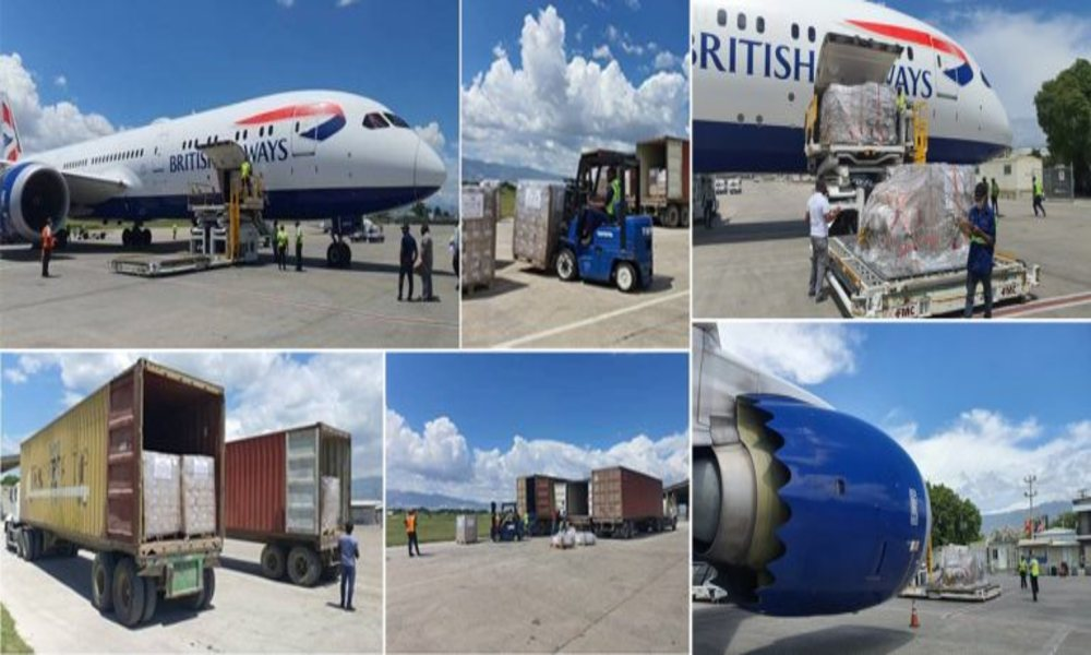 Chapman Freeborn flies over 60 tonnes of election material to Haiti