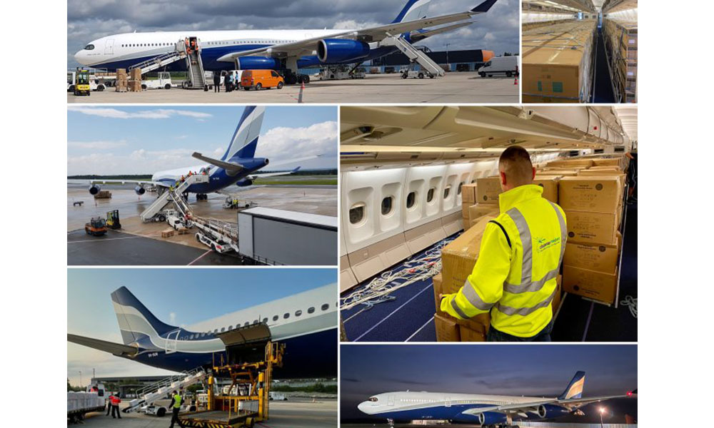 Chapman Freeborn transports over 204 tonnes of PPE to Namibia
