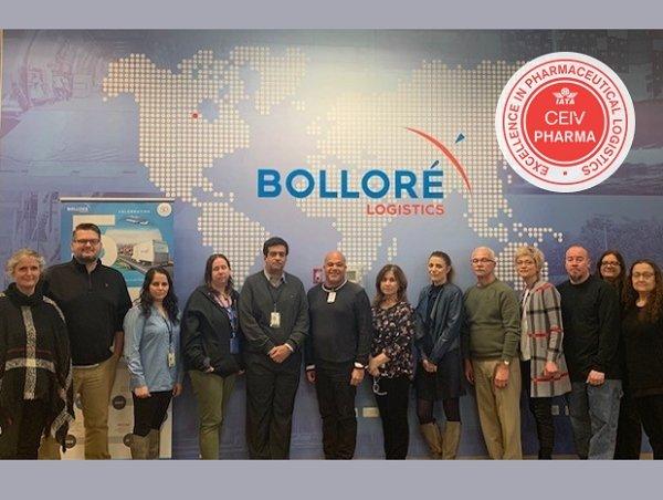 Bolloré's Chicago branch scores IATA CEIV certification