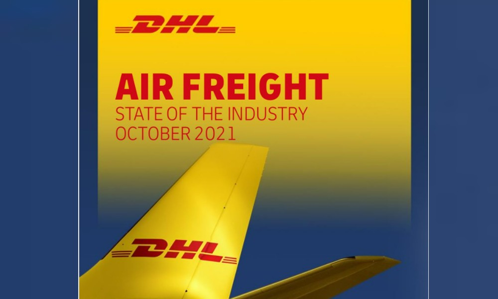 Air freight rates up 86 percent in August 2021 vs 2019: DHL