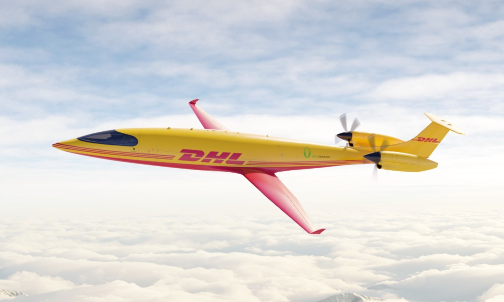 DHL Express order first-ever all-electric cargo planes from Eviation