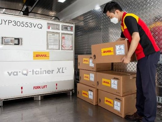 DHL Express Korea transported 310 tonnes of Covid-19 diagnostic kits abroad