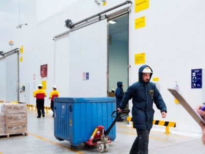 DHL opens its first temperature-controlled facility in India
