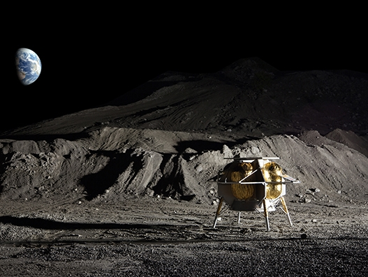 DHL's first commercial payload transport to the Moon ready for launch
