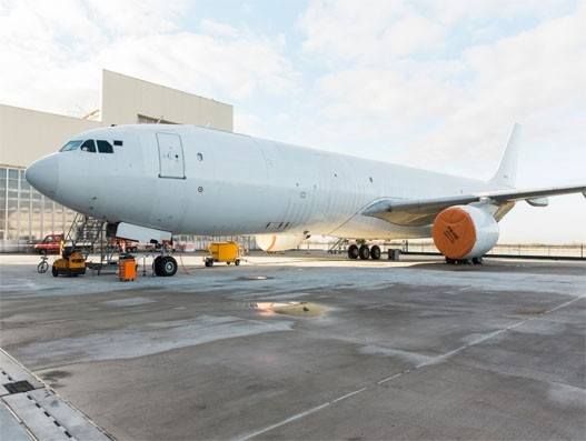 DHL Express adds first converted Airbus A330-300 freighter to its fleet