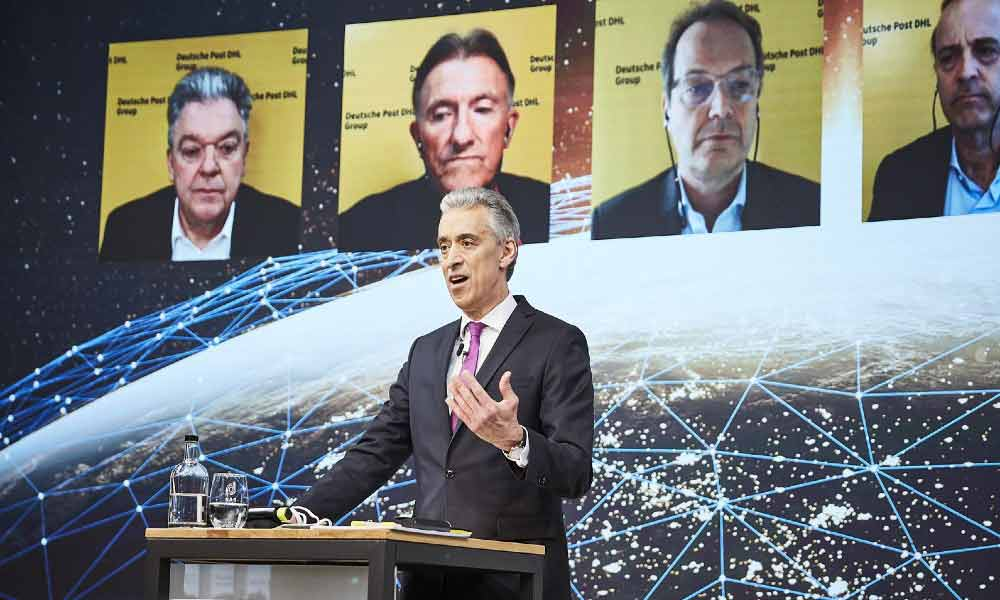 Deutsche Post DHL Group posts record earnings; 2020 operating profit at 17.4%