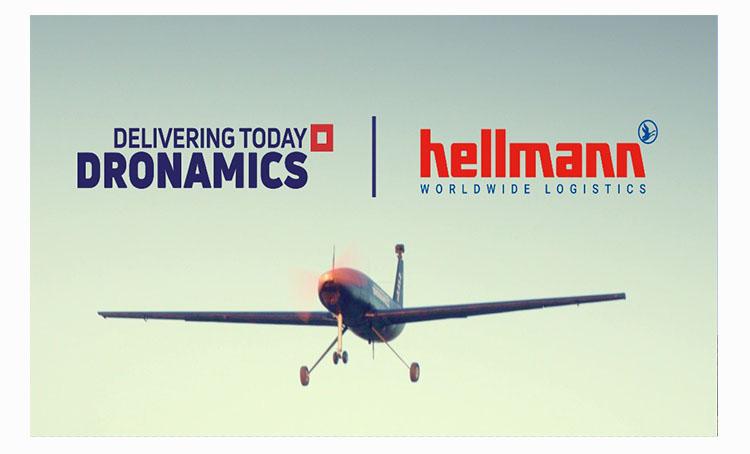 DRONAMICS, Hellmann partner to transport time-critical goods via drones across Europe