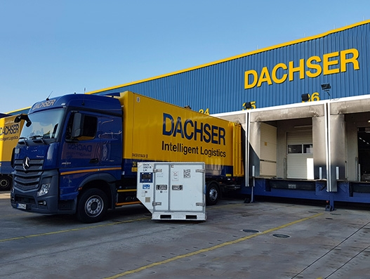 Dachser's Frankfurt airport branch gains pharma certification from IATA