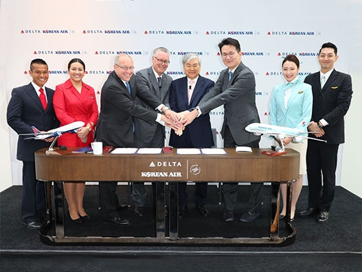 Delta and Korean Air enter into trans-Pacific Joint Venture