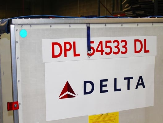 Delta Cargo to extend Bluetooth tracking capability from early next year