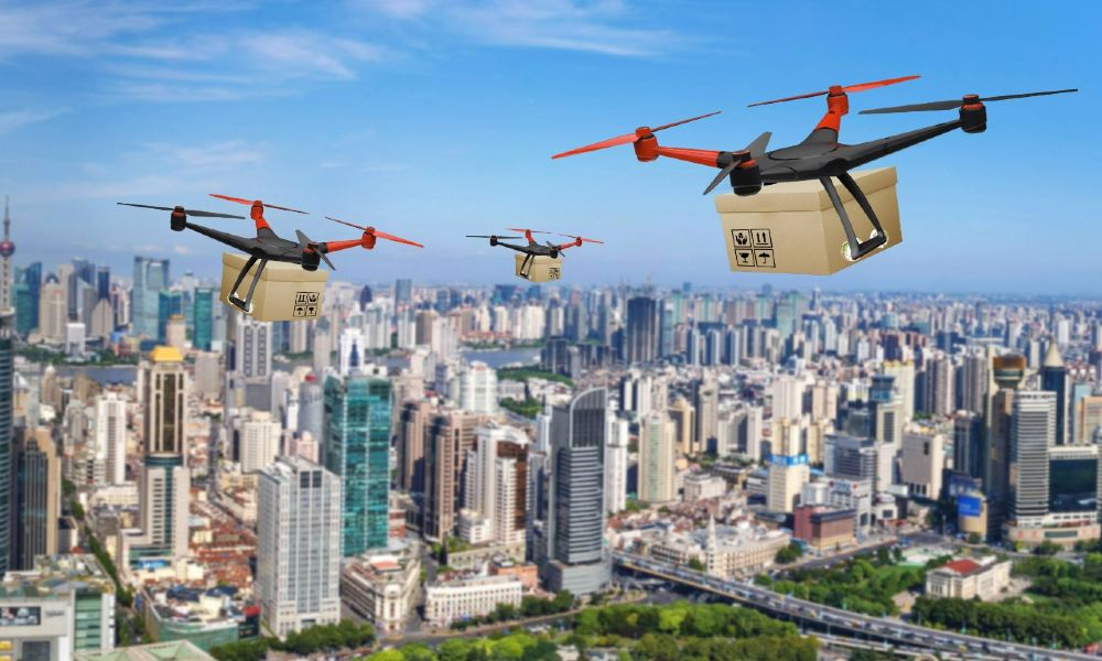 Drones – a game changer for logistics industry