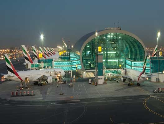 Dubai International's October air cargo volume up 9.5 percent y/y