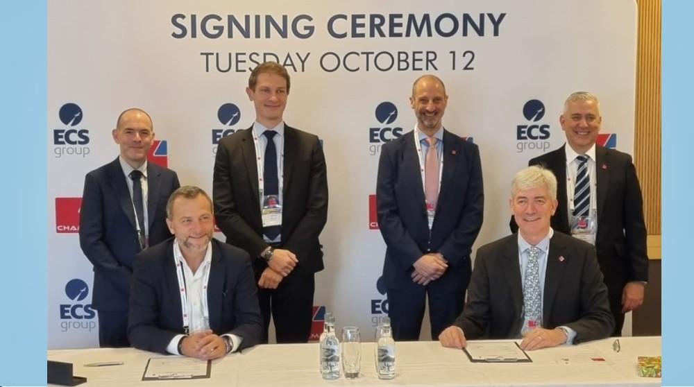 CHAMP and ECS Group renew Cargospot contract at IATA WCS