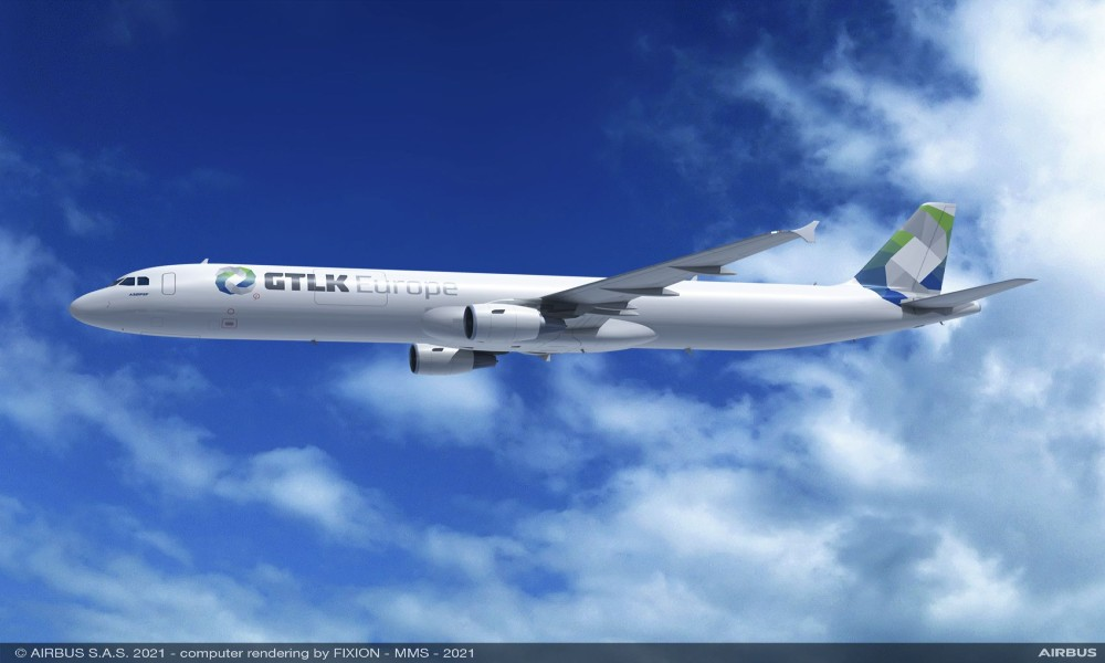 EFW receives order of four Airbus A321P2F from GTLK Europe