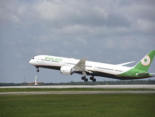 EVA Air receives its first Boeing 787-10 Dreamliner