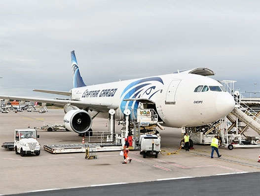 Egyptair Cargo launches freighter operation to Johannesburg from Cologne/Bonn