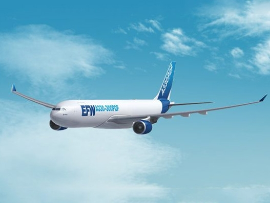 Egyptair Cargo takes delivery of first A330-200P2F from conversion specialist EFW
