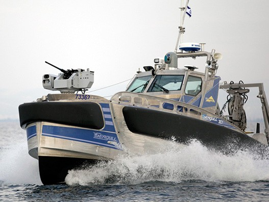 Elbit's Seagull joins in a joint exercise between Royal Navy and Israeli Navy