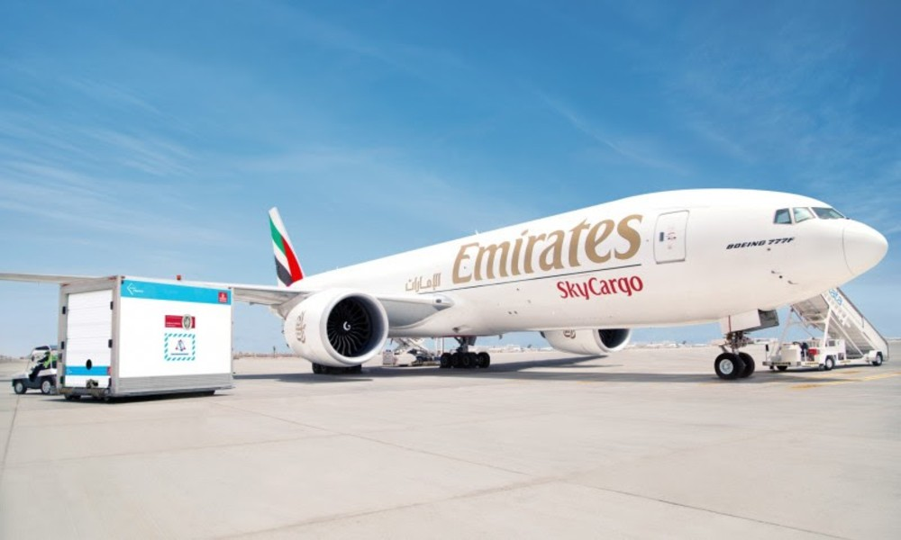 Emirates SkyCargo transports 150 million doses of Covid-19 vaccines