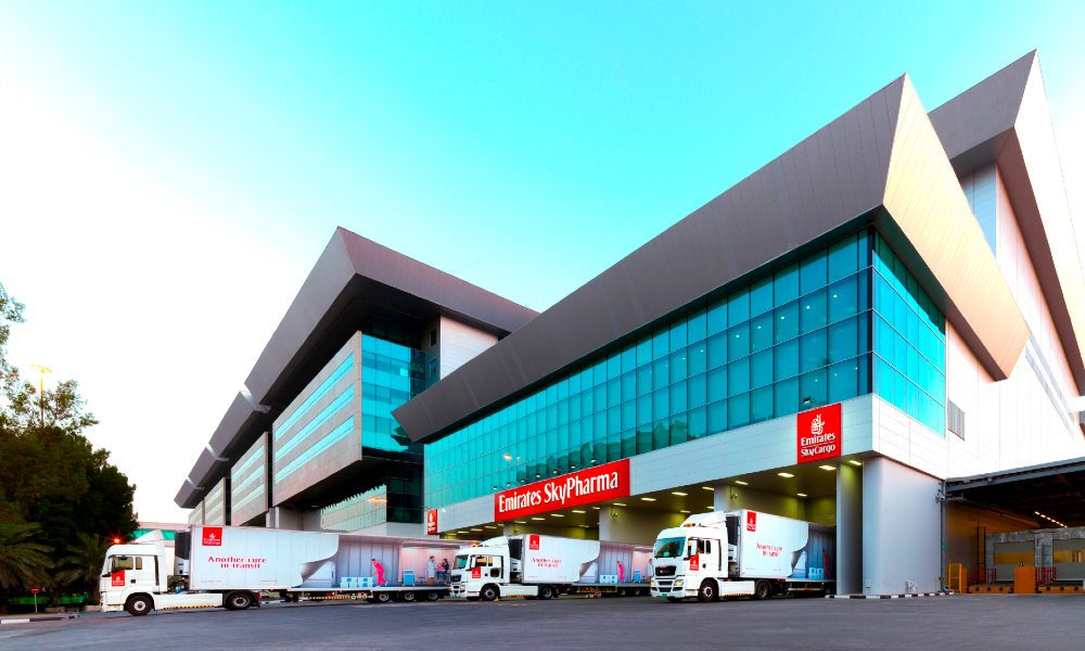 Emirates SkyCargo delivers over 400,000 tonnes of pharma in 5 years