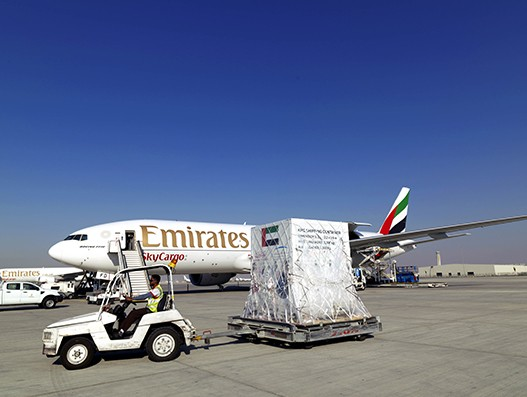 Emirates SkyCargo transports first space satellite to South Korea