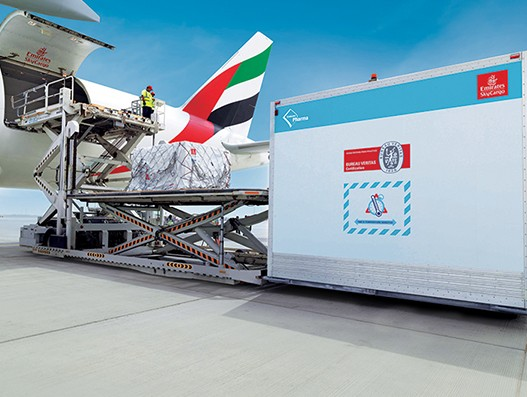 Emirates SkyCargo enhances temperature sensitive pharma cargo