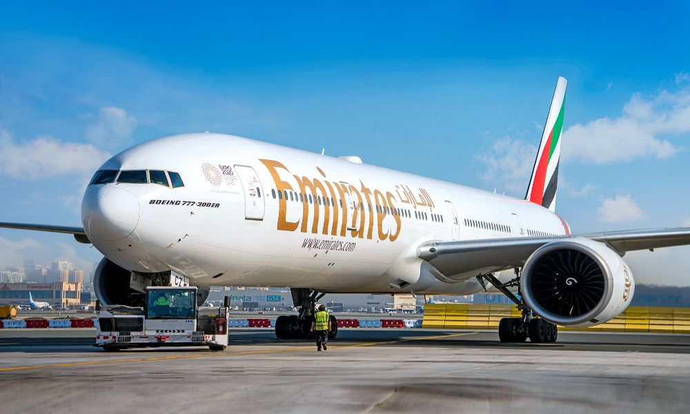 One out of every 20 Covid-19 vaccines administered worldwide flown on Emirates aircraft
