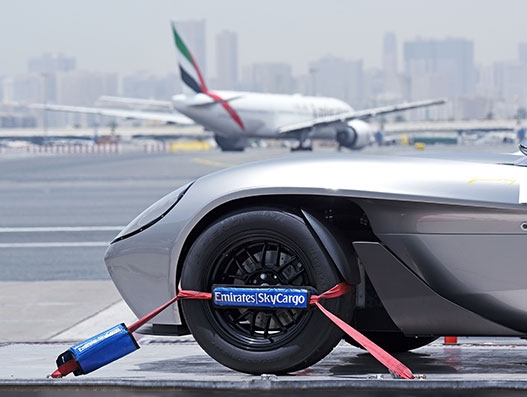 Emirates SkyCargo transports first car designed and built in the UAE