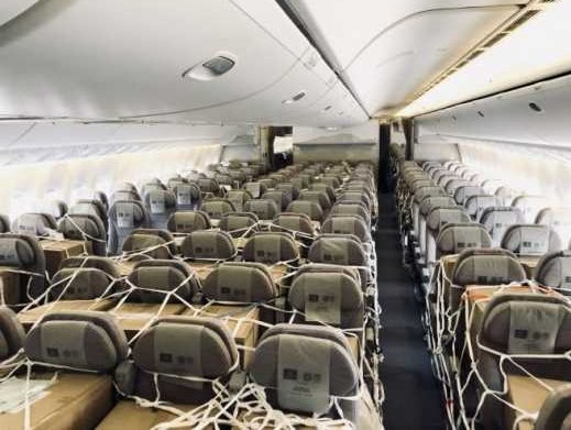 Emirates details safety and precautions for cargo on seats