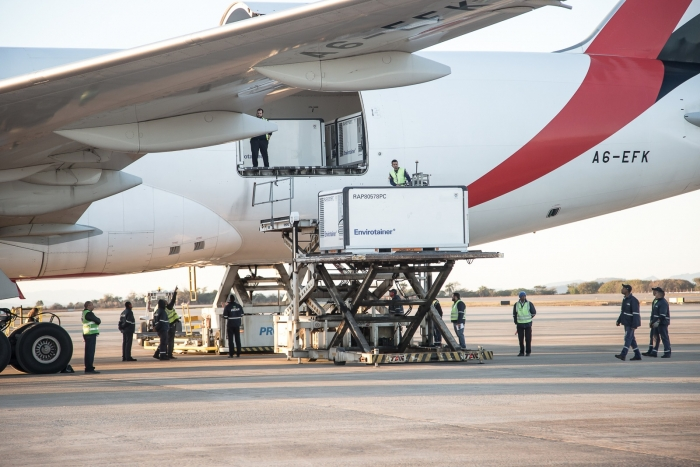 Emirates delivers 25 tonnes of vaccines to Brazil