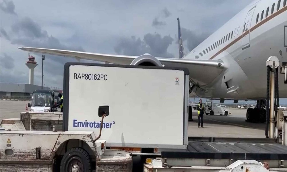 Envirotainer's RAP e2 containers completes 100 trips worldwide protecting nearly 3 million vials of medicine