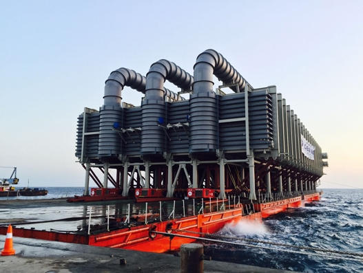 ALE transports world's heaviest evaporator to Shoaiba in Saudi Arabia